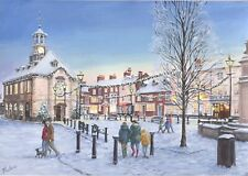 Charity Christmas Cards ~ 10 Pack with Envelopes ~ Brackley in Winter