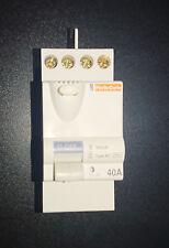 Interrupteur Différentiel Merlin Gerin, 2 Pôles, 40A, 30mA, Type AC