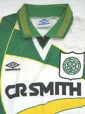 More details for vintage glasgow celtic 1994-95 football shirt umbro away  large  lsht926