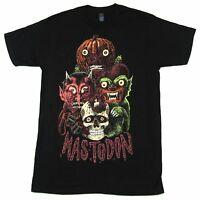 Mastodon Pumpkin Skull Black T Shirt New Official Band Merch