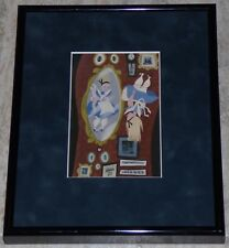 DISNEY MARY BLAIR ALICE IN WONDERLAND FRAMED 2009 MOCAT EXHIBITION PROMO CARD