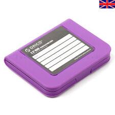 """5X Protector De ORICO PHI-35 3.5 """"HDD SATA Disco Duro HDD Estuche Set Reino Unido"""
