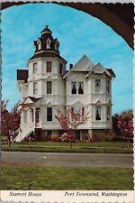 Starrett House Port Townsend WA Washington Unused Vintage Postcard D52