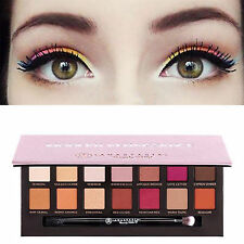 UP 14Colors Eyeshadow Palette Modern Renaissance Matte Makeup Cosmetics Kit FW
