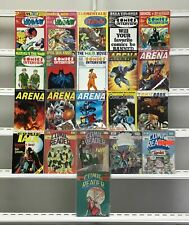 Comics Interview  Arena Comic Talk Comic Arena Comic Reader Fictioneer Books Ltd