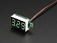 Adafruit Mini Voltímetro de 2 hilos (3.2 - 30 Vdc) [ADA460]