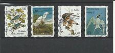 France 1995 arts déco Oiseaux de J.J. série complète n° 2929 à 2932
