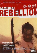 Samurai Rebellion (1967) - Toshirô Mifune, Yôko Tsukasa - DVD NEW