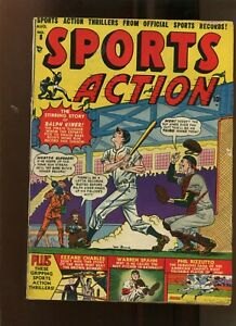 SPORTS ACTION #8 (4.0) RALPH KINER! 1951