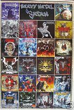 HEAVY METAL POSTER: Kreator,Static X,Vendetta,Abysmal Dawn,Behemoth,Dragonforce