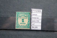 STAMPS FRANCE YVERT TAX N°60 MH* (F112303)