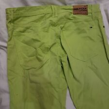 Mens Tommy Hilfiger green jeans W36 L34 straight. NWOT