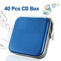 40 Disc Double-side CD DVD Organizer Holder Storage Case Hard Wallet Album