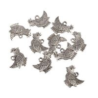 10 Guitar music instrument 3D Tibetan Silver beads charms fit DIY 28*9.5mm
