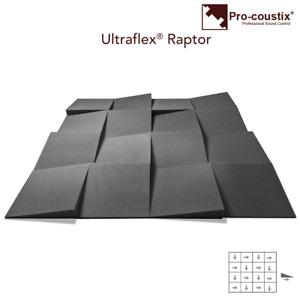 Pro-coustix Ultraflex  Raptor  Treatment Panels 24x pcs B Grade