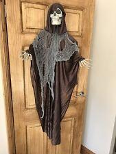 Halloween Esqueleto Colgante con Marrón Cape Fantástico Miedo Articulo de Fiesta