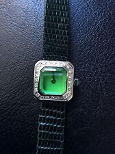 Corum Diamond Watch Ultra Rare Green Color !!!