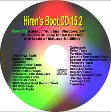 HIREN'S BOOT CD RIPARAZIONE diagnosticare PC Laptop ripristinare PRO Boot su qualsiasi PC