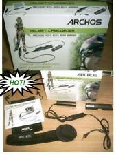 ARCHOS HELMET CAM GEN 4 CAMERA av-404 504 604 705 gen4 WITH 3 LENSES & MOUNTS