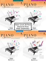 Faber Piano Adventures Level 2B - Pack Set (Lesson/Theory/Perf/Technique) NICE !