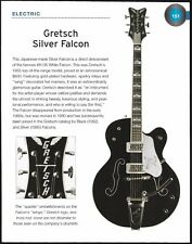 The 1995 Gretsch Silver Falcon + Guild Artist Award Archtop guitar 6 x 8 article