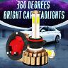 Pair 4-Sides 9005 HB3 COB 260W 48000LM Car LED Headlight 6000K Xenon White Power