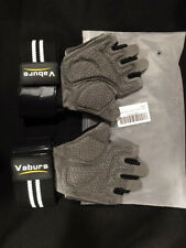 New Fitness Workout Gloves Black Sz.M Full wrist Support Training Weight Lifting