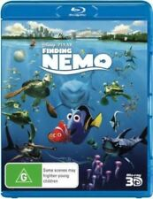 Disney Pixar Finding Nemo 3D Bluray Region Free ABC New