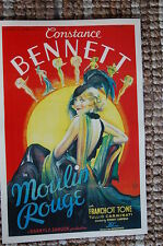 Moulin Rouge Lobby Card Movie Poster Constance Bennett