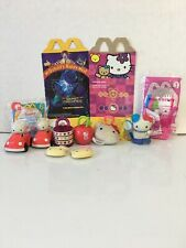 Hello Kitty McDonalds 2000 mixed lot Beast Machine box Apple Barettes sanrio car