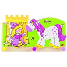 Goki 60797 Garderobe kleine Prinzessin mit Einhorn