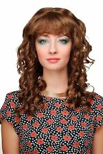 PERRUQUE pour femme brun Mixte tire-bouchon-boucles PONY mi-longs baroque cm-232