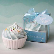 25 Adorable Blue Cupcake Bath Bomb Fizz Spa Wedding Bridal Shower Party Favors