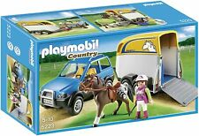 Playmobil 5223 Country SUV with Horse Trailer ►NEW◄ PERFECT NEVER REMOVED MISB