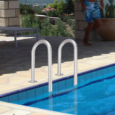 Poolleiter Leiter Einstiegsleiter Edelstahl Sicherheitsleitern für Pool 3-stufig