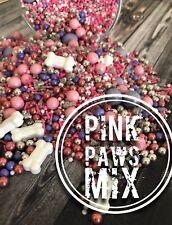 Pink Paws Sprinkles Cake Cupcake Cookie Sparkles Edible Paw Patrol Skye