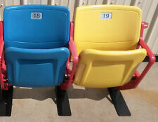 Rosenblatt Stadium Seats - YELLOW & BLUE - College World Series