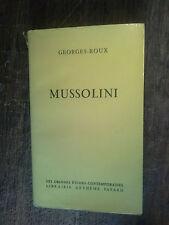 Mussolini / Georges Roux