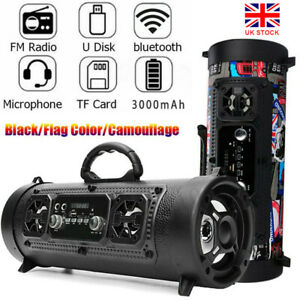 Portable Wireless Bluetooth Speaker Party Big Speakers Bass Outdoors TF/AUX/MP3