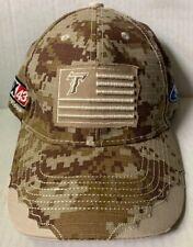 NORFOLK TIDES BASEBALL CAP HAT, CAMOUFLAGE, MILITARY NIGHT SGA, NORFOLK, VA, NEW