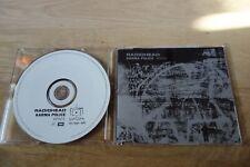 Radiohead -  KARMA POLICE -  Netherlands PROMO - KPINT1  !!!!!!!!!