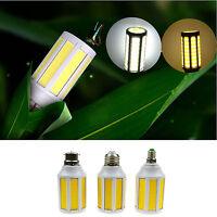 2000lm High Bright E27 15W COB 220V LED Corn Bulb White/Warm White Light Lamp