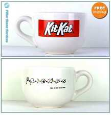 Large Friends TV Show Series Kit Kat Oversized CeramicCoffee Mug Cup 16 oz 1996