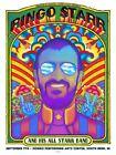 Emek Ringo Starr 11 color screenprint poster S/N xx/99 South Bend Indiana Septem