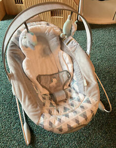 Ingenuity Automatic Baby Bouncer. 2 Sound Settings, 2 Volume Settings And On/Off