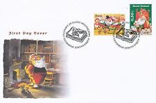 Finland 2005 FDC - Christmas - Designed by Mauri Kunnas - Issued October 28