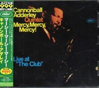 The Cannonball Adderley Quintet ‎Mercy, Mercy, Mercy! JAPAN CD W/OBI TOCJ-50001