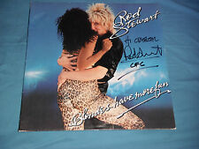 ROD STEWART SIGNED BLONDES HAVE MORE FUN VINYL ALBUM TO CRYSTAL