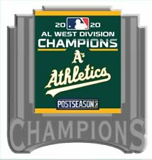 2020 OAKLAND A'S AMERICAN LEAGUE PIN WEST DIVISION CHAMPIONS WORLD SERIES?