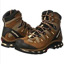 Salomon Quest 4D 2 GTX Support Waterproof Brown Fossil Hiking Trail Boots 7 Mens
